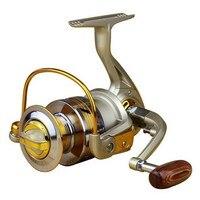 2017 Hot sale Superior Ratio 5.5:1 Aluminum Spool Spinning Fishing Reel 10BB EF1000 - 7000 Series carretilha de pesca