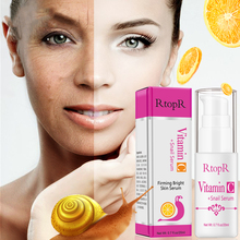 VitaminC Snail Serum Rejuvenation Anti Wrinkle Firming Bright Skin For Face Ance Treatment VC Collagen Repair