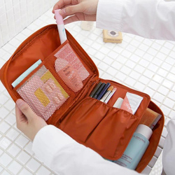 NIBESSER Zipper Mann Frauen Make-Up Tasche Kosmetik Tasche Tragbare Schönheit Tasche Make-Up Veranstalter Kultur Kits Lagerung Reise Waschen Tasche
