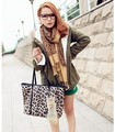 Fashion Leopard Print Two-layer Large Scarf For Woman,Winter Warm 180*65 CM 2colors Celebrity style Shawls Stoles 1pcs