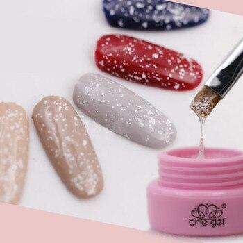 Nail Gel Polish Beauty 3g Glitter Xmas Snowflake Clear CHE Gel Che Gel UV LED Soak Off Nail Art Polish Makeup Health & Beauty