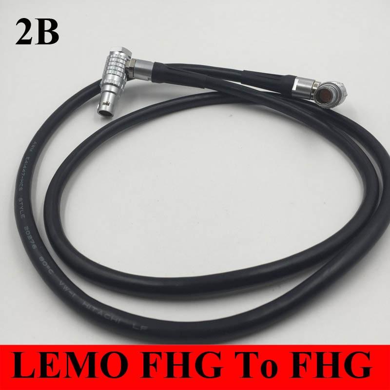 LEMO connector 2B FHG Right Angle Elbow Male Plug 2B 2 3 4 5 6 7