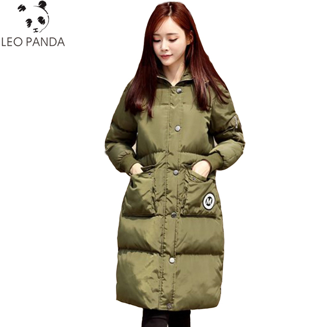 new york 94167 98113 US $53.73 |Mode Damen Mäntel Armee Grün 2019 Neue Winter Mantel Frauen  Parkas Dicke Warme Baumwolle Jacke Frauen Lange Jacken Mäntel Schwarz  LCY161 ...