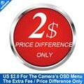 Diferencia de precio Sólo $2 Para El Menú OSD de la Cámara