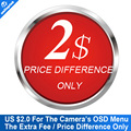 Price Difference Only $2 For The Camera's OSD Menu