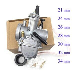 Image 2 - ZSDTRP Universal 21 24 26 28 30 32 33 34 35 36 38 40 42mm PWK carburatore carburatore moto per Keihin Koso ATV Power Jet