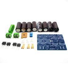 مجموعات ذاتية الصنع ستيريو HIFI 63V 2200 فائق التوهج x 8 + MUR860G x 4 لوحة امدادات الطاقة