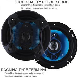 Image 2 - 2pcs 6.5Inch 180W 3 Way Auto Car Loudspeaker Coaxial Speakers Horn Audio Music Stereo Full Range Frequency Hifi Vehicle Speaker