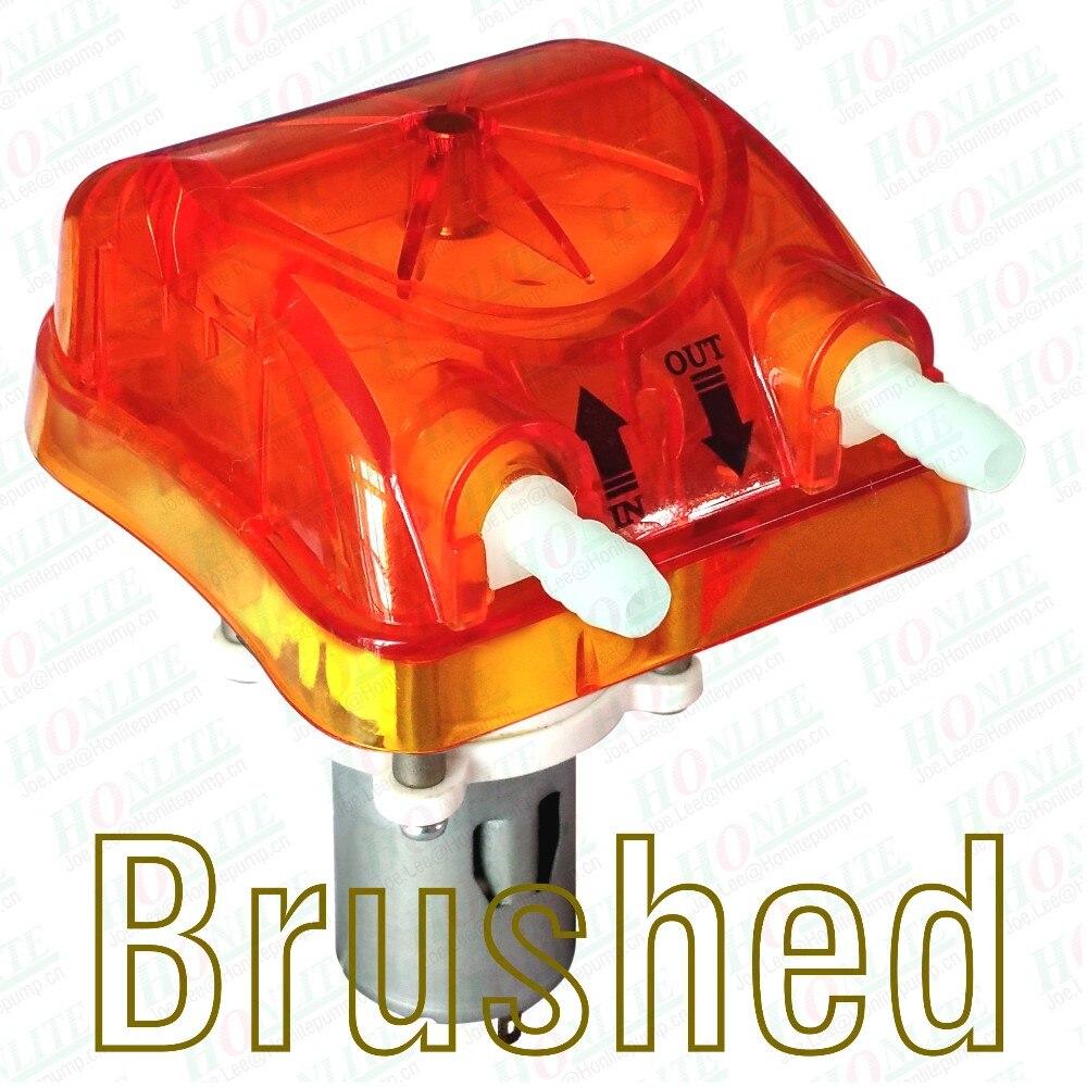 c0c8330c6baf 250 ml min, 24Vdc pompe péristaltique avec Transparent Orange échangeables  tête de pompe et approuvé par la FDA PharMed BPT péristaltique Tube