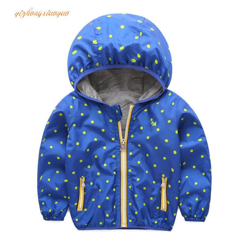 2016 куртка для маленьких мальчиков Детские куртки с капюшоном; верхняя одежда весенняя одежда для мальчиков Ветровки, блейзеры