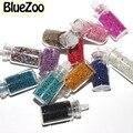 BlueZoo 10 pacotes/lote 12 Cores Minúsculo Prego Círculo Bead Decoração 3D Art Beads Caviar Garrafa Nail Art Set vendas por atacado