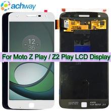 Ensemble écran tactile LCD, 5.5 pouces, pour Motorola Moto Z Play XT1635, original
