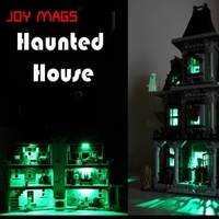 Led Building Blocks Kit For Creator 10228 City Monster Fighter Haunted House Lepin 16007 Model Is