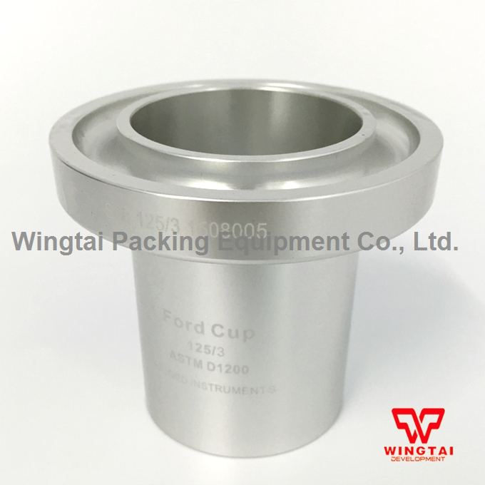 100ml USA Ford Ink viscosity Cup 2/3/4mm Zahn flow cups For Paint usa ford cup ink viscosity cup viscosity measurement cup with tripod 2 3 4mm for paint industry