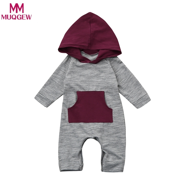 4d4cf0fa2 Baby Rompers Spring Autumn Newborn Baby Boys Girl Long Sleeve Clothes  Infant Hoodies Jumpsuit for Kids Baby Romper Outfits