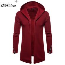 2018 Men Casual Hooded Sweatshirts Hoodie coat Autumn Winter solid Long Sleeve Top Blouse Jacket Coat Brand slim Hoodies Moletom катушка волжанка универсал 70 1096748