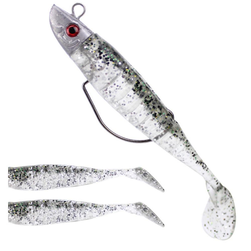 New 9cm/15g 11cm/25g Lead Soft Lure Swing Shad Lure Fishing Lures DIY Lead Head Worm Soft Bait Hook Jig Fish Sea Bass|Fishing Lures| - AliExpress