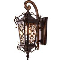 Роскошный Европейский Aulic открытый крыльцо настенные светильники, ретро водостойкий сад настенные бра Крытый коридор балкон настенный све