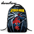 Primary Pupils Cartoon Backpack Shoulder Bag For Children's Gifts School Bag Fashion Spiderman Bag Kid Printing Backpack