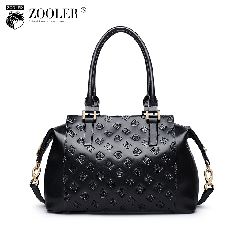 ZOOLER genuine leather bag fashion bags handbags women famous brands shoulder bag limited Russia Shipping bolsa feminina #6958 sales zooler brand genuine leather bag shoulder bags handbag luxury top women bag trapeze 2018 new bolsa feminina b115