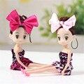 16cm BJD doll toys kawaii doll for girl baby dolls for girls gift pendant 2016 mini lovely BJD dolls toy kids carttoon bonecas