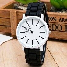 цена 2019 Women Watches Fashion Casual Colorful Silicone Jelly Quartz Watch Men Outdoor Sports Wristwatch Relogio Unisex Clock Analog онлайн в 2017 году