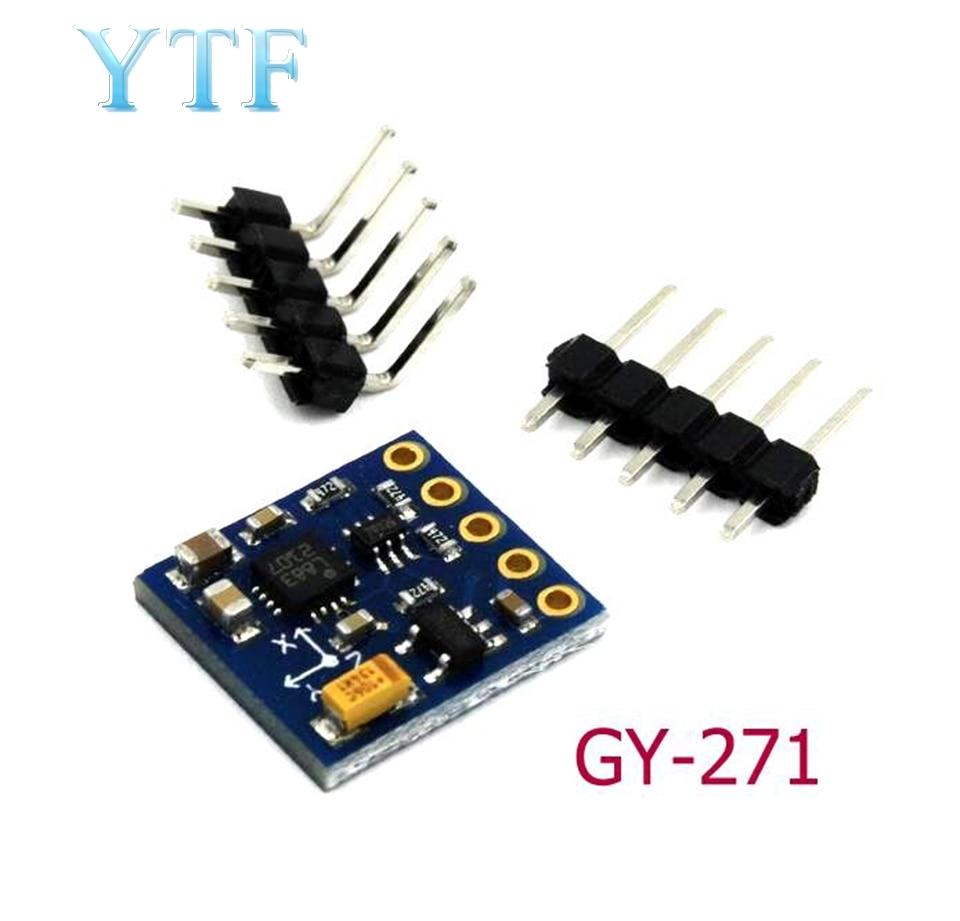 GY-271 3-Axis Compass Magnetometer Sensor Module 3V-5V