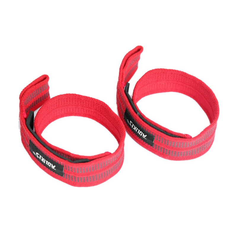2PCS Sport Wrist Professional Adjustable Weight Lifting Bodybuilding Wristband Gym Strap Protection Support Sportswear in Wrist Support from Sports Entertainment