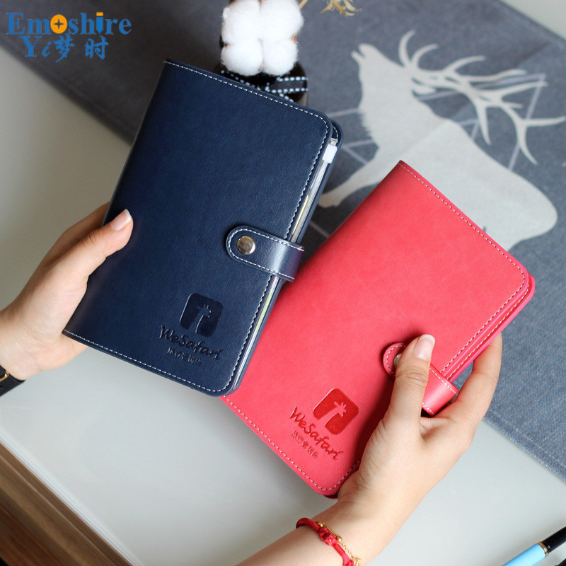 New A6 Loose-leaf Creative Handbook Notebook Wholesale Simple Handbook Bookkeeping Student Diary Custom Brand Notebook N181 it ethics handbook