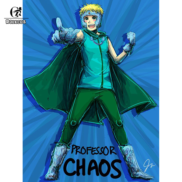 Rolecos American Anime South Park Cosplay Costume Professor Chaos