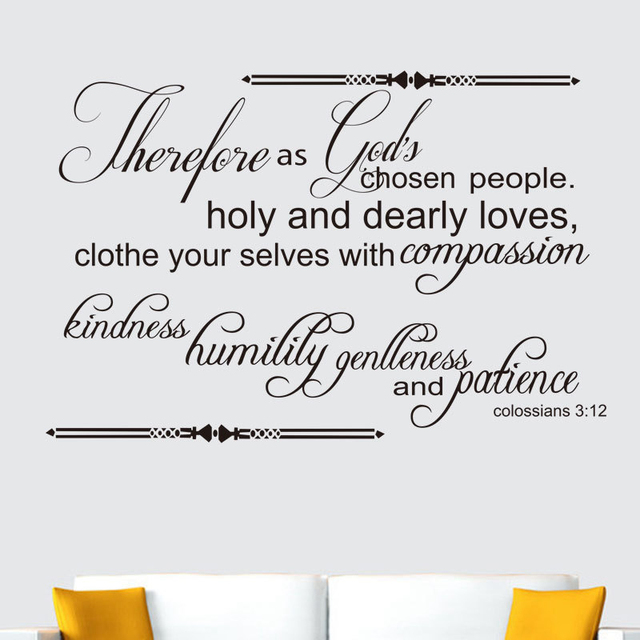 Christian Jeremiah Quotes Godu0027s Love Wall Art Decor Home Decoration , High  Quality Vinyl Wall Sticker