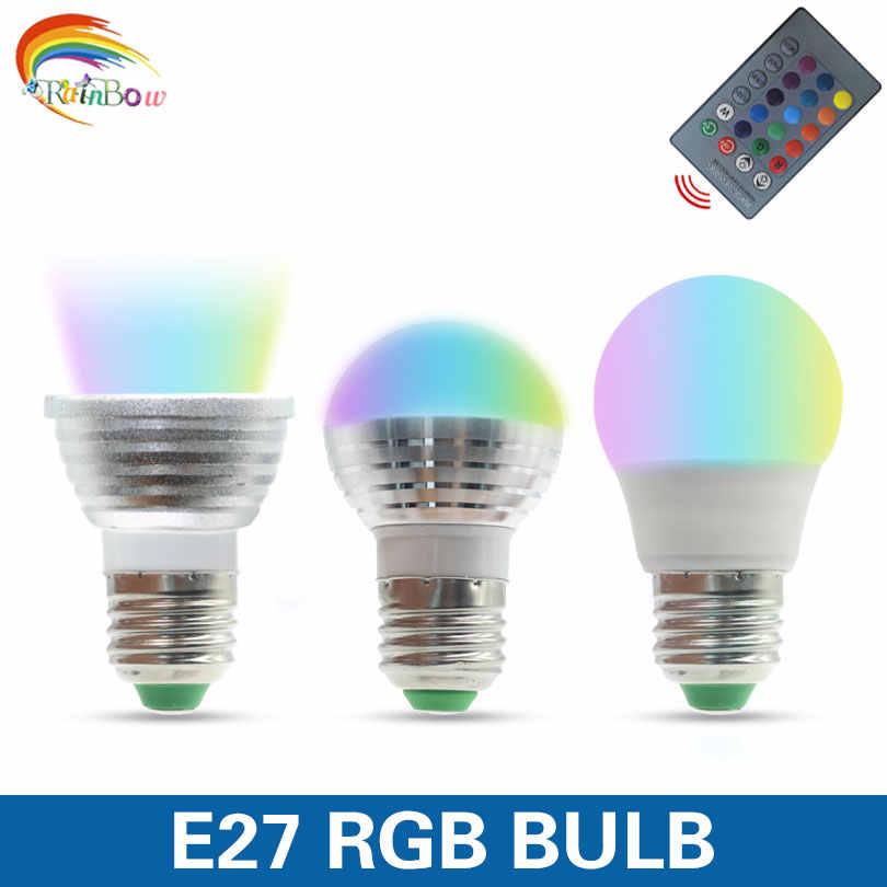 Lowest price led bulb LED GU10 COB 9W Led Spotlight Warm Cold White MR16 12V rgb Lamp E27 E14 5W RGB Lampada 16 Color Change led