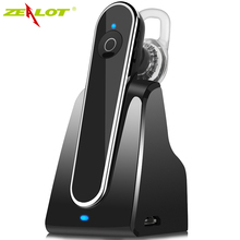 Newest Stereo Car Bluetooth Wireless car kit earphone with Charging Dock Headfree