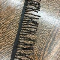 2Yd Lot New Design European Style Curtain Sewing Trim Tassel Black Beads Lace Fabric Crafts Garment