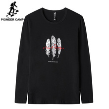 Pioneer Camp 2019 T shirt Men Interesting design Casual thin Long Sleeve Custom T-shirt Printed O-neck Cotton Tee Male ACT901540
