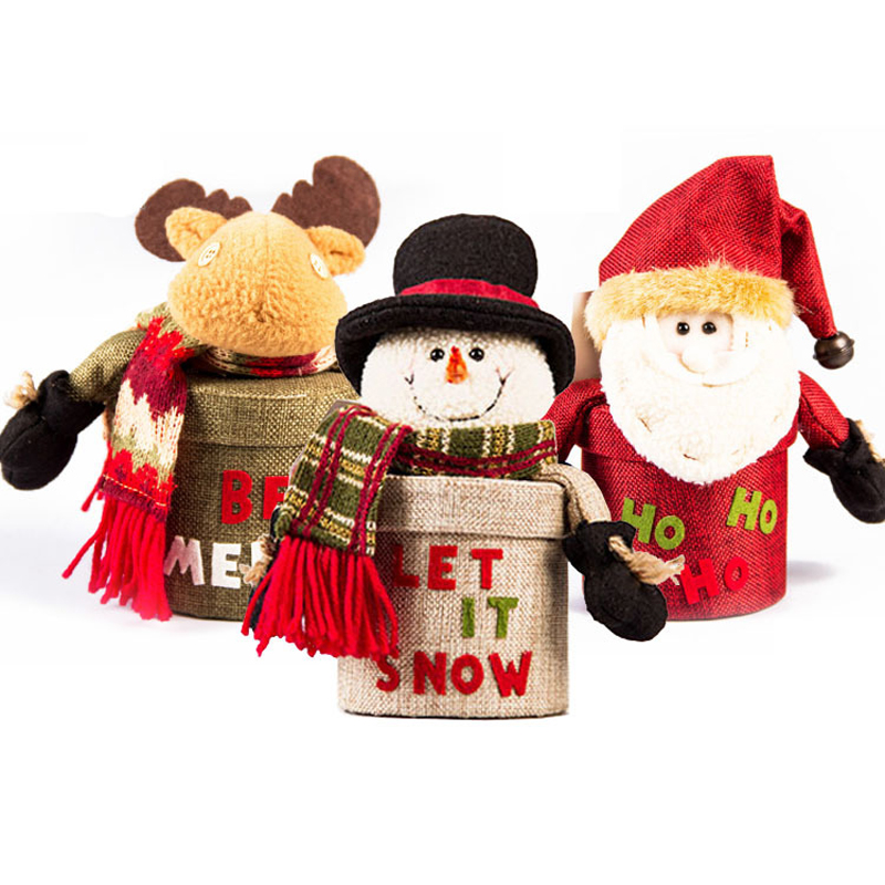 Selling Red Candy Bag Christmas Gift Box Christmas Tree