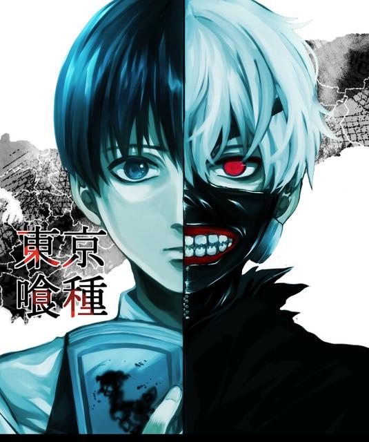 Hohe Qualitat Heisser Anime Tokyo Ghoul Kaneki Ken Maske Verstellbar Zipper Masken Pu Leder Kuhle