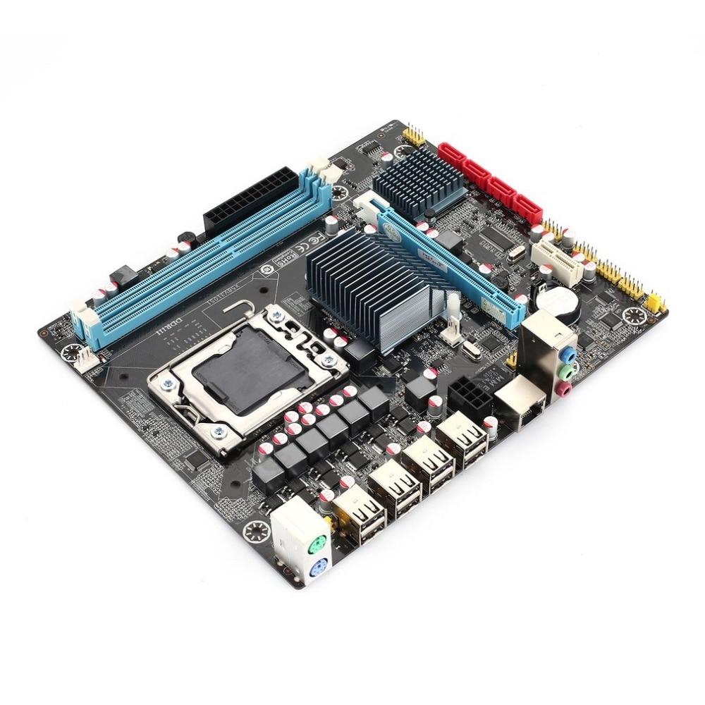 X58 V310S1 Motherboard IntelIntel CPU LGA1366 interface ATX standard type structure 16G memory capacity for desktop e5 3 3c motherboard lga2011 intel cpu interface atx standard type motherboard structure ddr3 memory for desktop