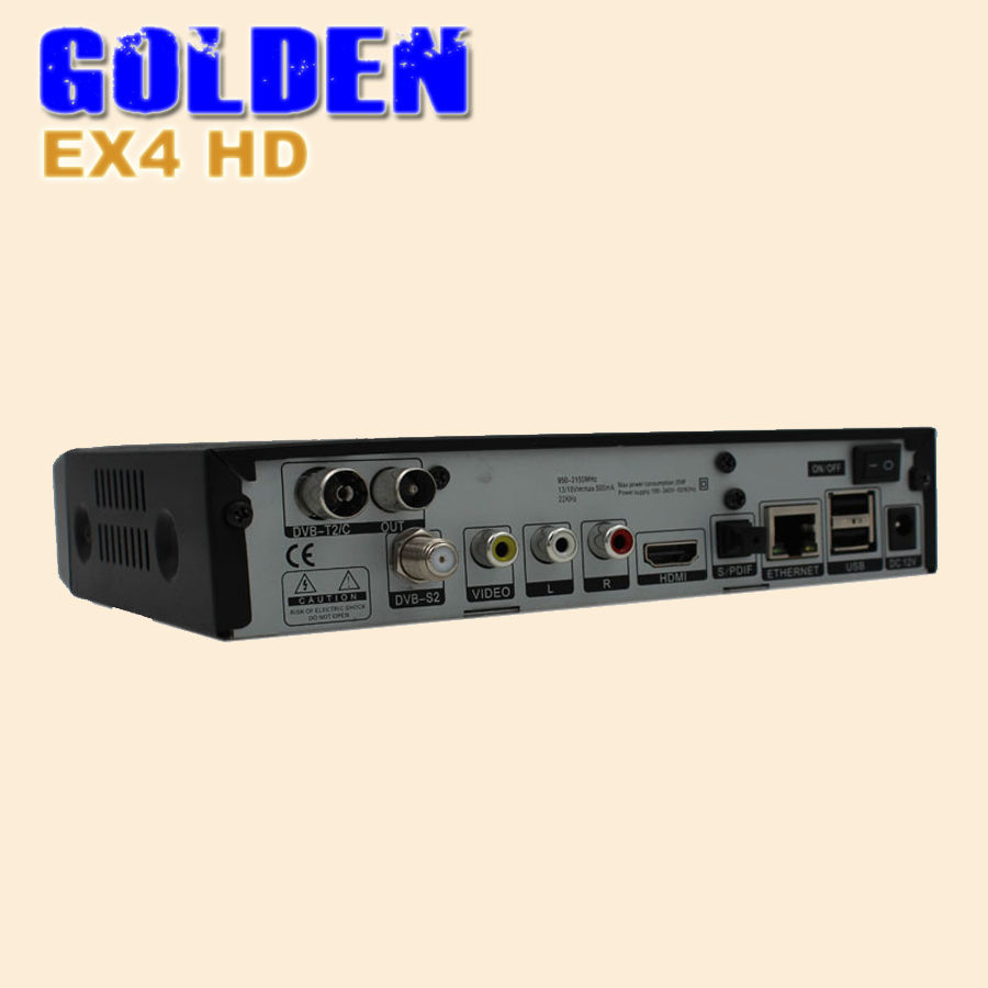 Caiwei Home Use Dvb T2 Projector Led Lcd Digital Tv: 1PC HEROBOX EX4 HD DVB S2 Tuner + 109A T2/C Tuner BCM7362
