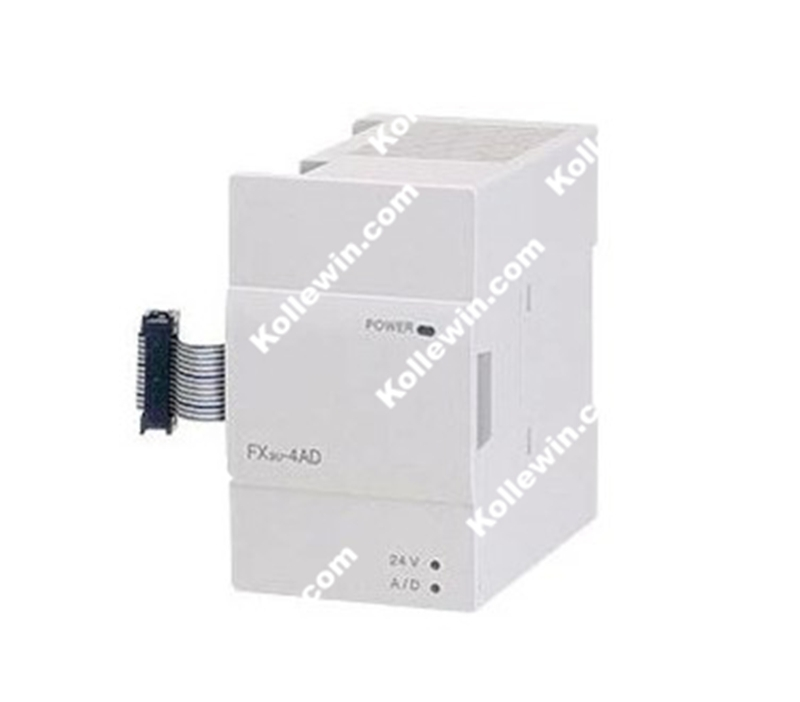 FX3U-4AD 4- Channel Analog Input PLC Module for FX3U PLC, FX3U4AD, FX3U 4AD NEW in box fx3u 4ad adp fx3u 4ad adp new in boxed
