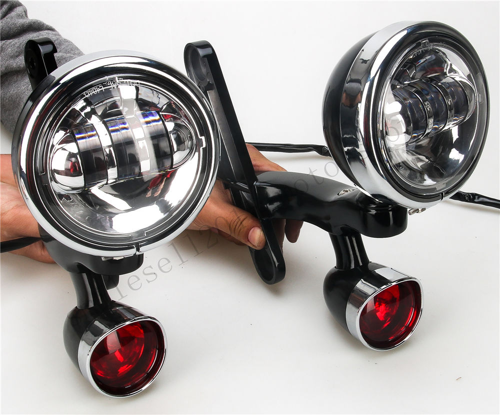 Nosilec za luči za meglo za motorna kolesa Nosilec za luči za - Avtomobilske luči - Fotografija 3