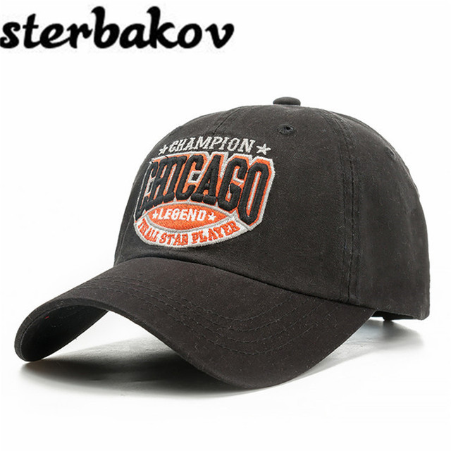 41f87627c8f Free Shipping 1Pcs 2016 New Cotton Letter Brand Baseball Cap Men And Women  Snapback Do Old Motorcycle Hat