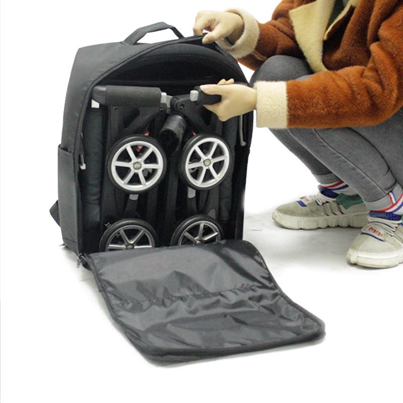 Image 5 - Stroller Storage bag  travel bag backpack For Goodbaby POCKIT  Xiaomi babyzen yoyo Light Stroller Pram AccessoriesStrollers Accessories   -