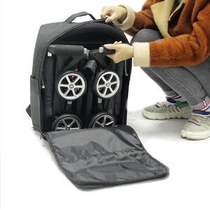 Image 5 - Stroller Storage bag  travel bag backpack For Goodbaby POCKIT  Xiaomi babyzen yoyo Light Stroller Pram Accessories