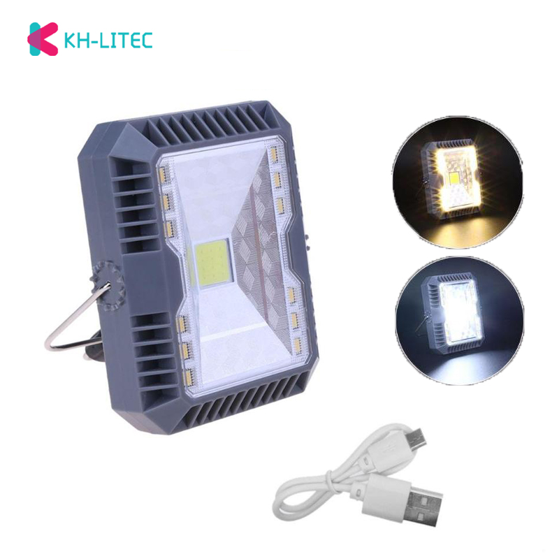 Solar Floodlight Spotlight Led Flood Light 3 Modes USB Rechargeable COB Working Lamp Outdoor Camping Emergency Handheld LampSolar Floodlight Spotlight Led Flood Light 3 Modes USB Rechargeable COB Working Lamp Outdoor Camping Emergency Handheld Lamp