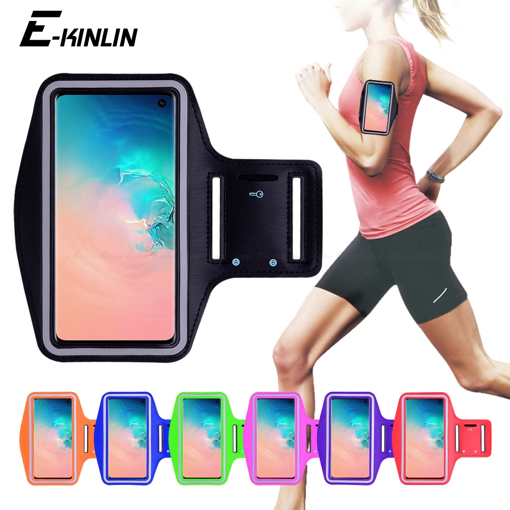 Running Cycling Sport Phone Bag Cover For Samsung Galaxy S8 S9 S10e S10 S20 Ultra FE Note 20 10 Plus Lite 5G 8 9 Arm Band Case