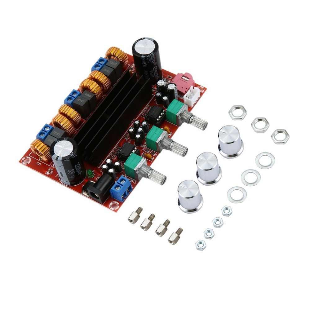 Новая версия высокое Мощность усилители двойной чип TPA3116D2 50Wx2 + 100 Вт 2,1 путь цифровой сабвуфер Мощность усилитель доска