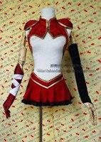 nóng Anime triệu arthur Lohengrin thời trang bên trang phục váy trang phục cosplay tùy chỉnh thực hiện bất kỳ kích thước miễn phí vận chuyển