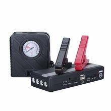PUSHIDUN 600A Peak Current Car Jump Starter with Air Pump for 12V Car Battery Charger Charger