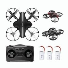 Мини Drone RC пульт дистанционного управления квадрокоптером 4CH 2,4G 6-оси вертолет высота Удержание Дрон модель Headless режим игрушка для детей взрослых